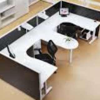 jklt home office & furniture KD system office table