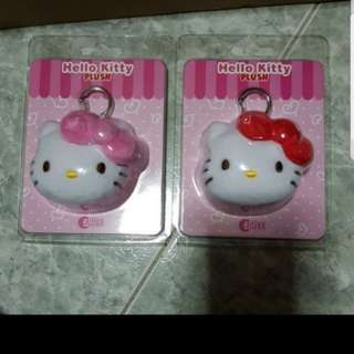 Hello kitty plush charm