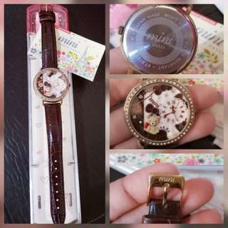 Mini Miniature Watch Teddy