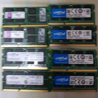 DDR3 rams 8gb