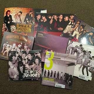 2pm / SUPER JUNIOR CDs