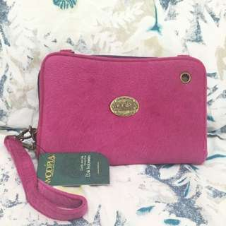 Multifunction suede Clutch / bag