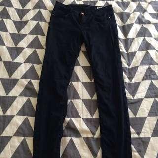 Zara Navy Jeans Size M