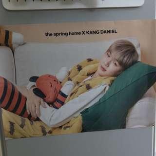 Wanna one 丹 代言 Spring Home 原筒海報