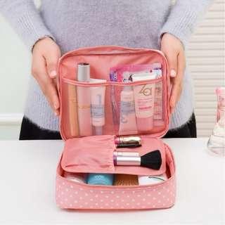 Korea Travel Multi Pouch Cosmetic Bag Makeup Bag Organizer