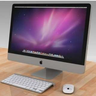 "8/10 iMac 27"" preowned mint condition!!"