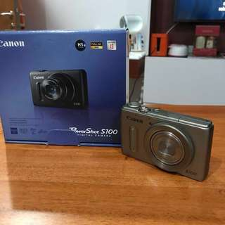 Canon Powershot S100 - Gold