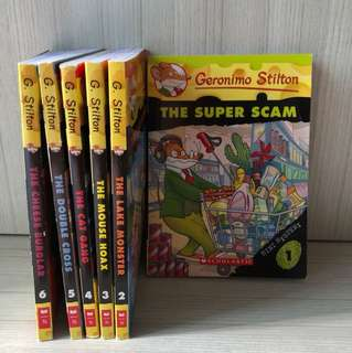 Geronimo Stilton Mini Mystery Series