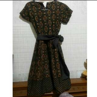 (FLASH SALE) Dress Batik