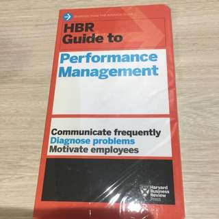 Harvard business review on performance management