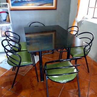Dining set 6 seaters