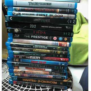 19 Blu-ray titles for sale