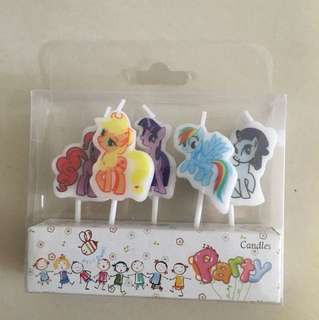$4.9 Pony Birthday Candles