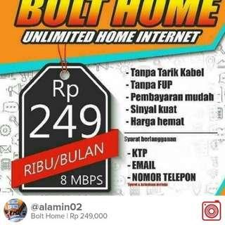 BOLT HOME WIFI RUMAH 4G LTE