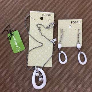 Fossil ceramic stainless accessories