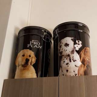 $10 each - store your pet food and so forth, it's very large.