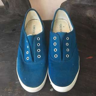 Forever 21 Blue Sneakers