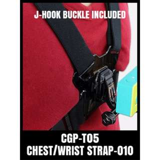CGP-T05 Gopro Chest Strap (Jhook Buckle Included)