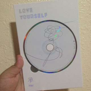 Bts love yourself her cd and hyyh notes only