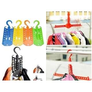 gantungan baju pakaian portable praktis murah - HPR053