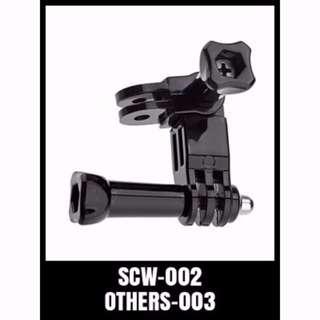 SCW-002 GoPro 3 Way Pivot Arms GoPro