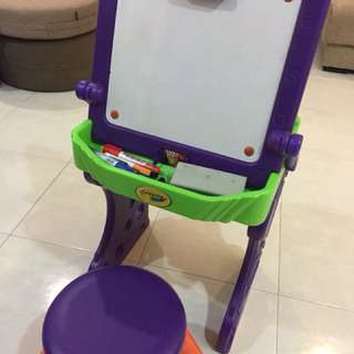 Crayola Artist Table/Chair + Duplo Compatible Table