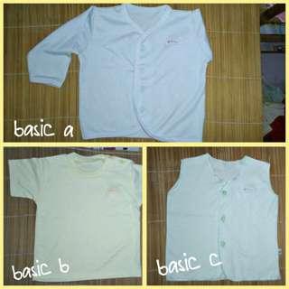 Baju bayi 0-3 bln