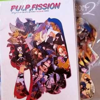 2本【吊帶襪天使】同人畫集《PULP FISSION》