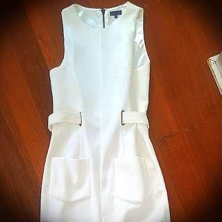White Corporate Dress (size 10)
