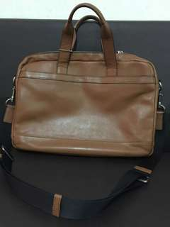 Authentic Coach Laptop Bag