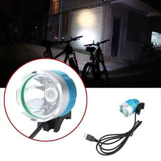 800 Lumen CREEE XM-L T6 LED Bicycle Headlight Lamp For Bike Cycling Bike Bicycle Waterpoof Front Head Safe Light high quality!!