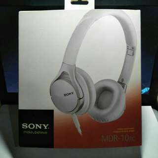 Sony MDR 10 RC Headset