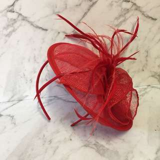 Victorian Red hat