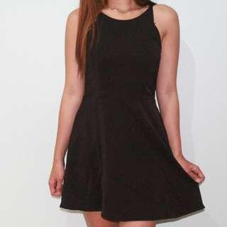 Dress sexy black