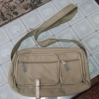 Mango khaki messenger bag