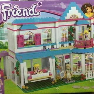 Lego Friends Like Stephanies House By Lepin