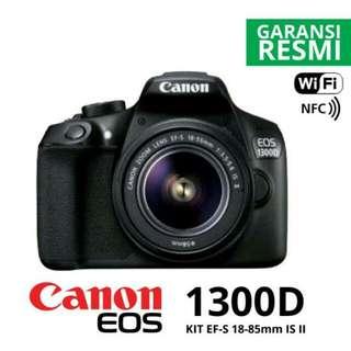 Canon EOS 1300D Kit 18-55mm DSLR Kredit Kamera