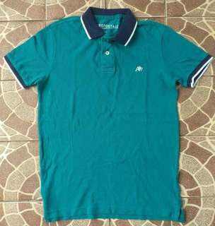 (100% Authentic) Aeropostale Polo Shirt Green