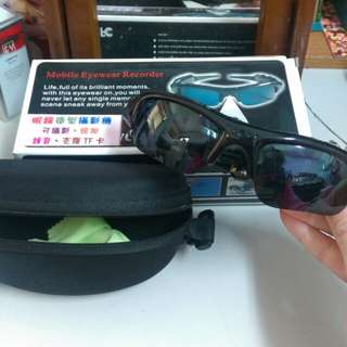 Mobile eyewear recorder 眼鏡造型攝影機