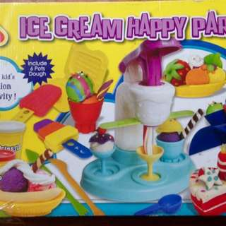 Ice cream machine dough maker sets for  3+ kids