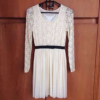 Dress Cantik Brukat