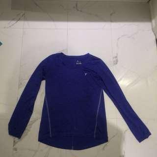 Purple Old Navy Active Shirt