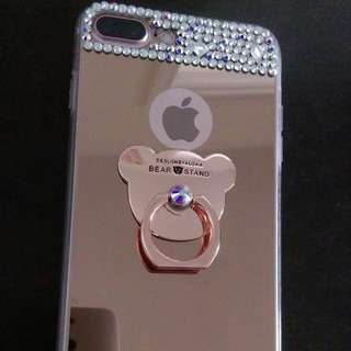 iPhone 7 plus閃石軟殼 送mon貼