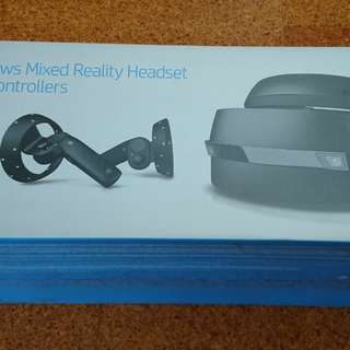 HP Windows mixed reality headset with controllers VR set