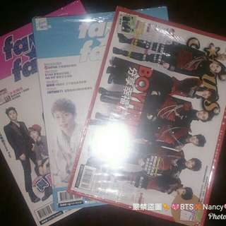 🚚 【BOYFRIEND】fans 粉絲誌 三本一套 不拆售
