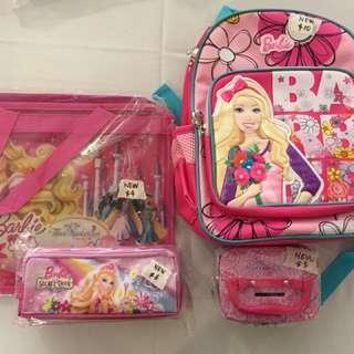 Barbie doll apparels set