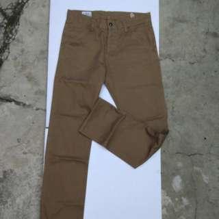 Elhaus Jeans Coklat Size 31