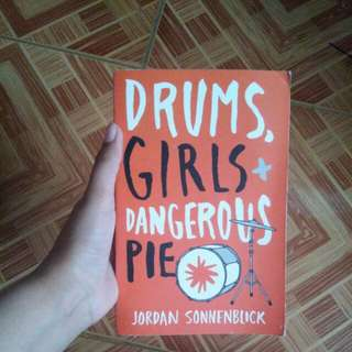 "Jordan Sonnenblick Inspiring Book ""Drums, Girls  Dangerous Pie"""