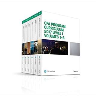 CFA 2017 Full Package - Textbooks, Past Year Questions (2008-2016), Kaplan E-books