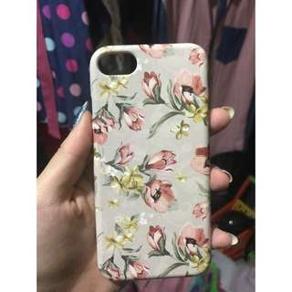 FLORAL SOFTCASE IPHONE 7